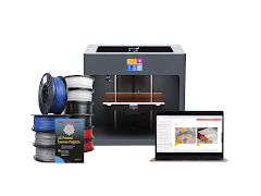 Craftbot 3D Printer Educational Bundle - Grey CraftBot PLUS