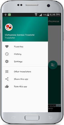 Vietnamese German Translate 1.2 screenshots 20