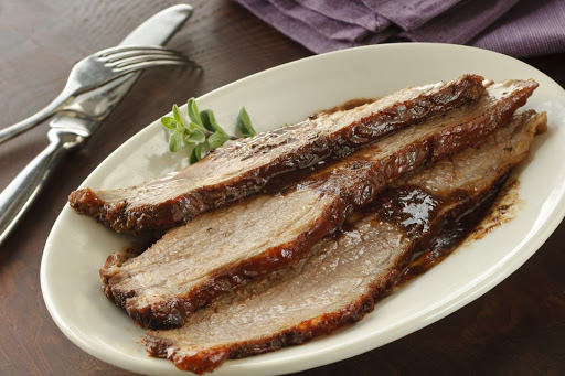 Sweet and Savory Coca Cola Brisket (Meat, Passover)