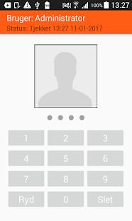 BDS Håndterminal App - náhled