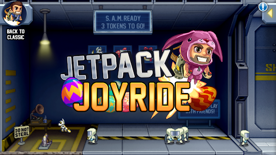 Jetpack Joyride- screenshot thumbnail