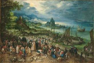 Photo: Jan Brueghel El Viejo, Harbour Scene with Christ Preaching, 1598