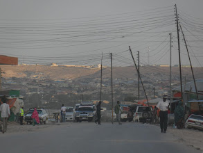 Photo: Hargeisa street scene (in the suburbs on the drive into town)