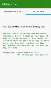 Tracker Weight Loss ★Military Diet★ 4