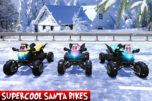Crazy Easter ATV Quad Bike: Fanatic Santa for PC