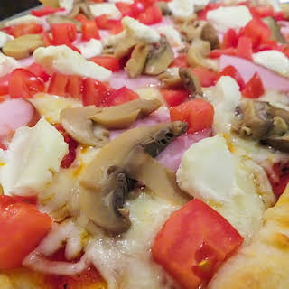 Spanish Summer Pizza.