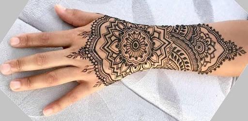 Henna Art Tangan Simple