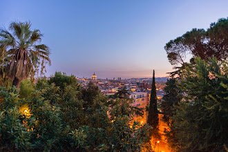 Photo: View of Rome from Villa Borghese