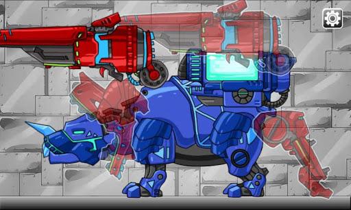 Dino Robot- Tyranno + Tricera2 1.2.1 screenshots 5