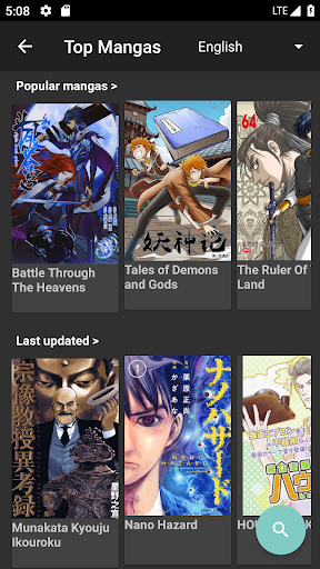 Mandrasoft Manga Reader 2.2.7b screenshots 1