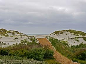 Photo: das Meer sehen wir auch von den Dünen aus