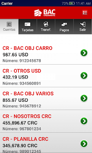 Banca Móvil BAC Credomatic- screenshot thumbnail