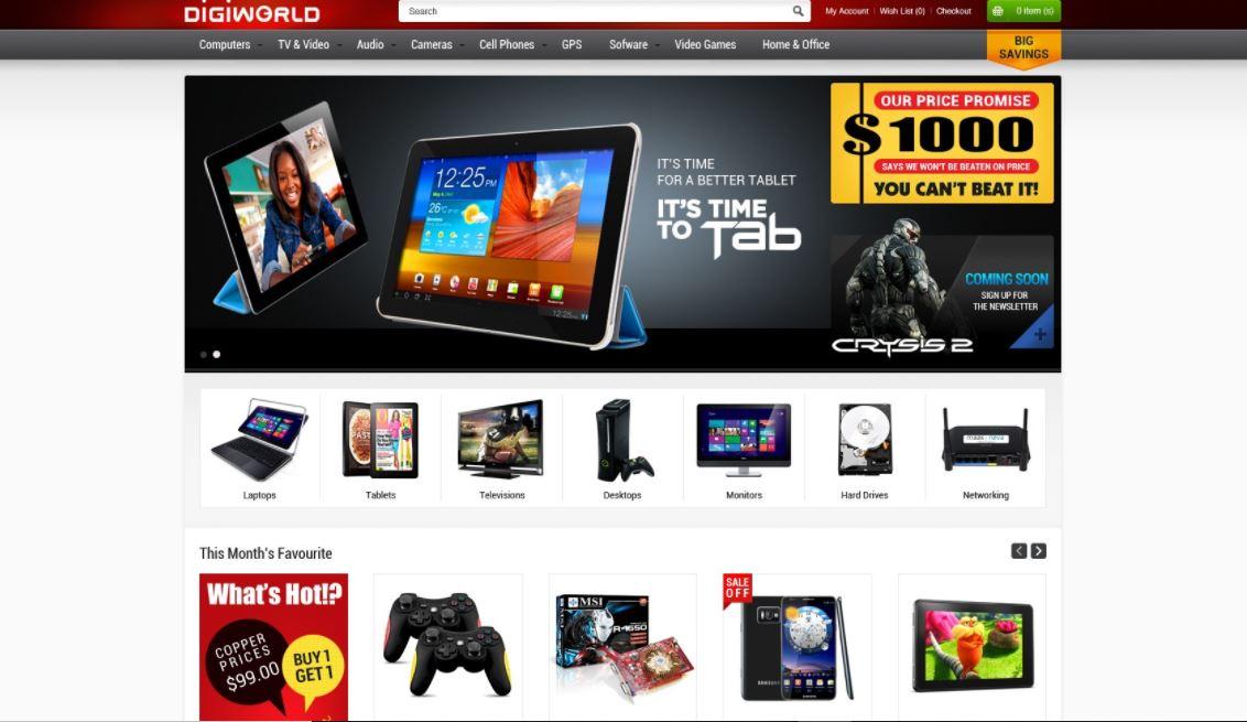 Digital products magento theme gala gomarket