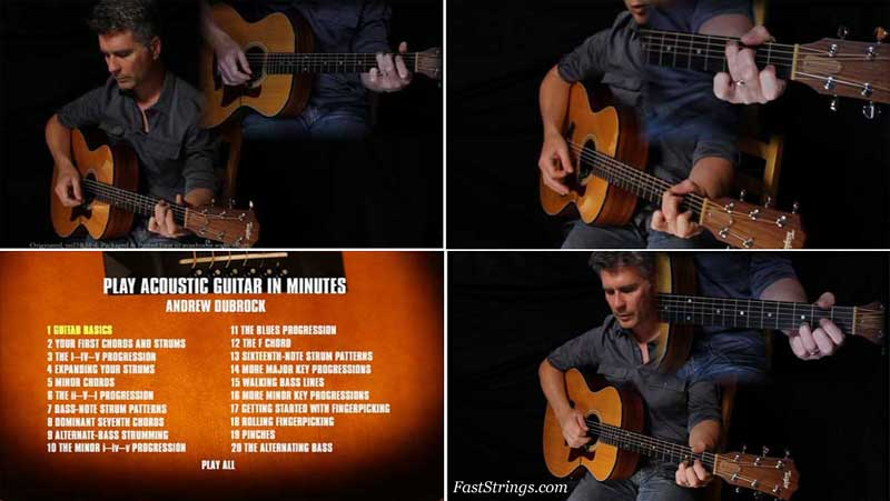 Andrew DuBrock - Play Acoustic Guitar in Minutes