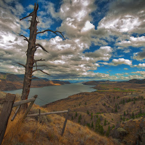 God's Country by Garry Dosa - Landscapes Mountains & Hills ( clouds, tree, autumn, fall, vista, landscape,  )