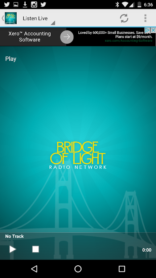 Bridge of Light Radio Network- screenshot