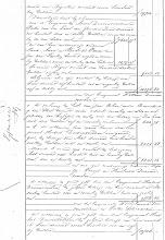 Photo: Regionaal Archief Leiden, Notarieel Archief Noordwijk, Inv. Nr. 19, notaris Cornelis Catharinus van der Schalk, akte 28, blad 29, dd. 21-02-1861  Boedelscheiding van de boedel van Job Duivenvoorden, overleden te Noordwijk op Langeveld, laatst echtgenoot van Hendrina van der Klugt.