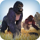 Wild Gorilla Monkey Run Game