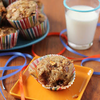 Candy Bar Muffins  (or Raid-the-Halloween-Loot-Bag Muffins).