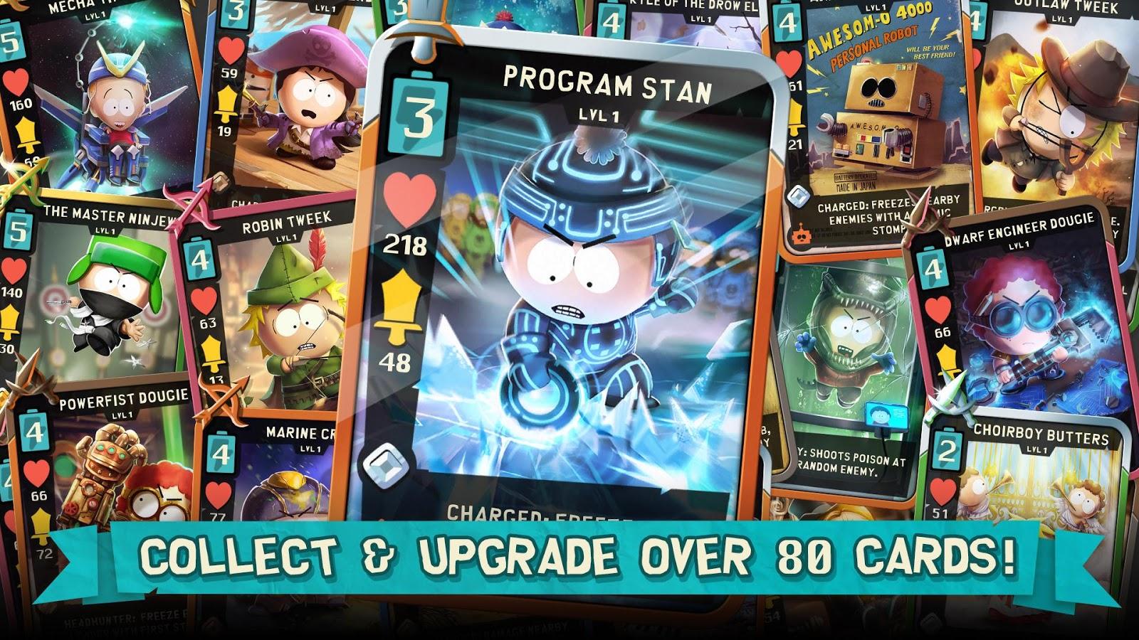 South Park: Phone Destroyer™ – zrzut ekranu
