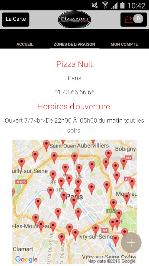 Pizza Nuit- screenshot