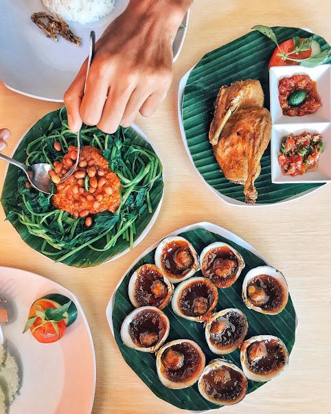 warung gurih gurih bali seafood murah di bali