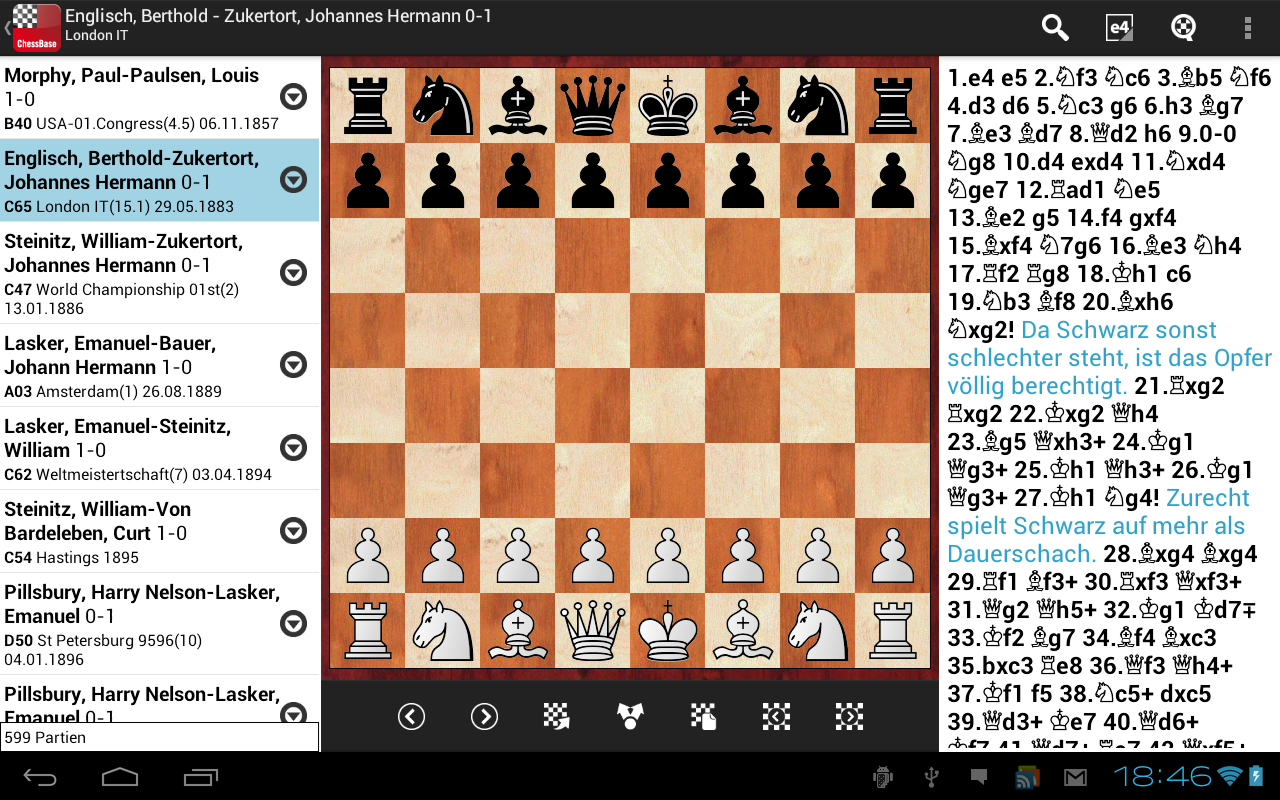 ChessBase Online APK latest version 3 7 3 1928 - Free Board Games for  Android