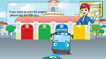 Screenshot of Tayo's Garage Game
