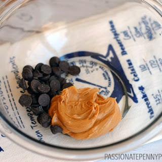 Small Batch Chocolate & Peanut Butter Crispy Rice Bars