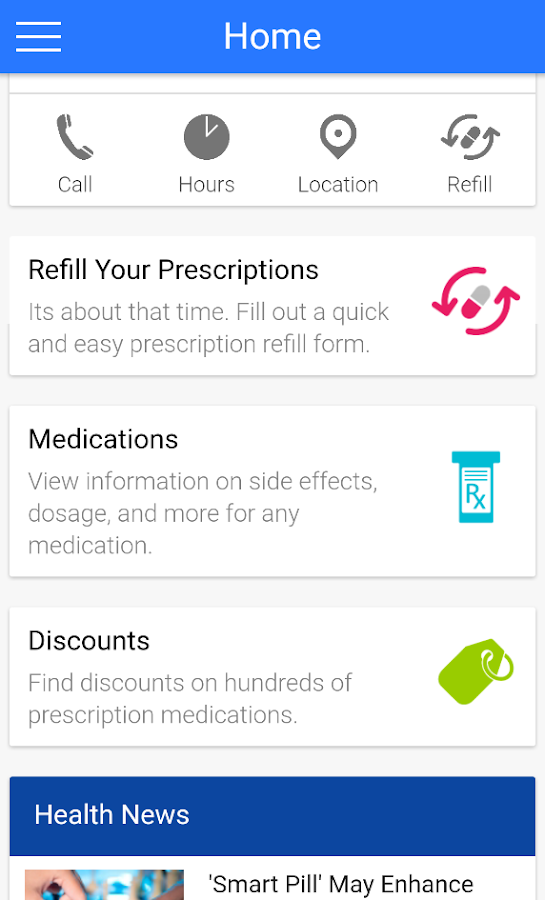 East End Pharmacy- screenshot
