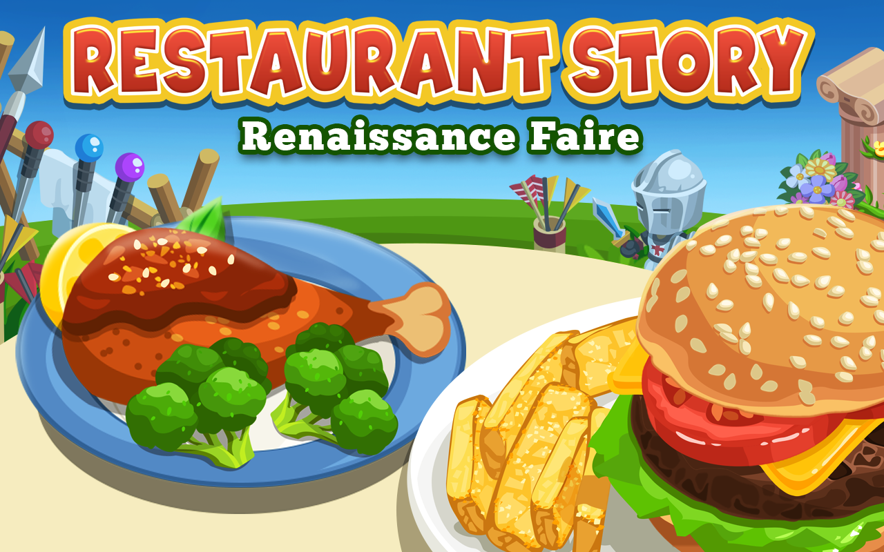 Home Design Game By Teamlava Restaurant Story Ren Faire Android Apps On Google Play