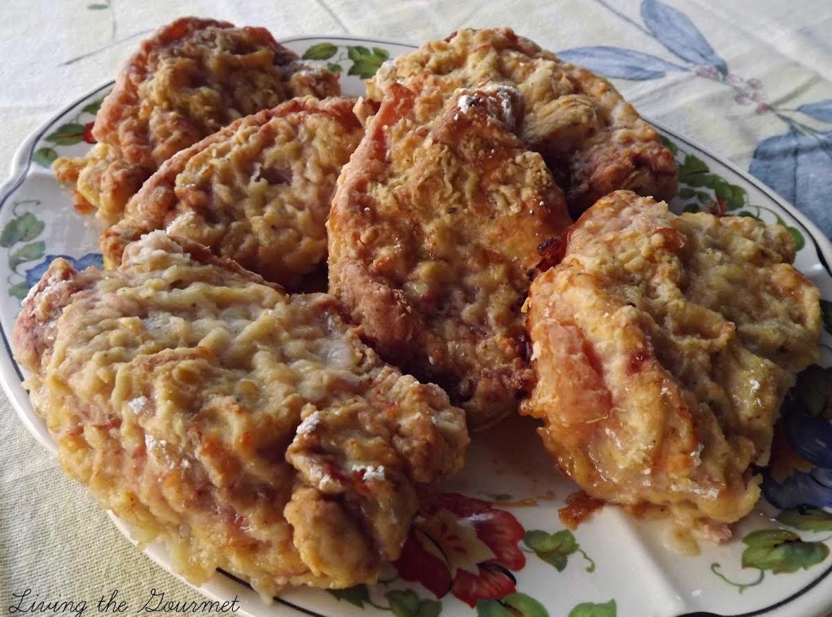 Oven Fried Boneless Pork Chops Just A Pinch Recipes