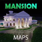 Mansion maps for Minecraft PE: Castles, Houses