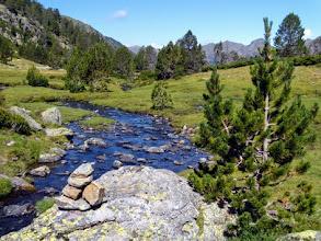 Photo: Risalendo la Val Ferrera.