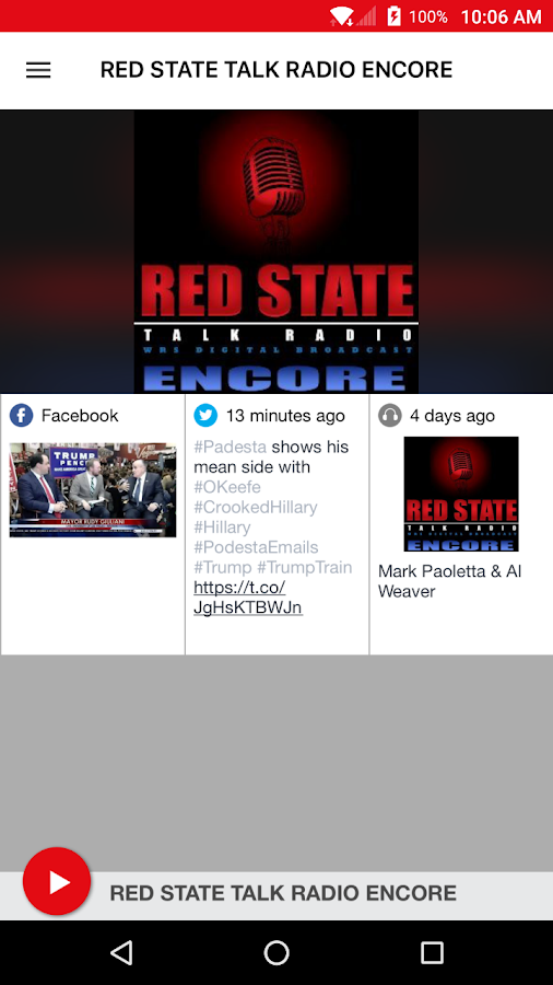 RED STATE TALK RADIO ENCORE- screenshot