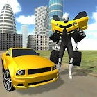 Advanced Muscle Robot Car Simulator 3D Free icon