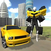 Advanced Muscle Robot Car Simulator 3D Free