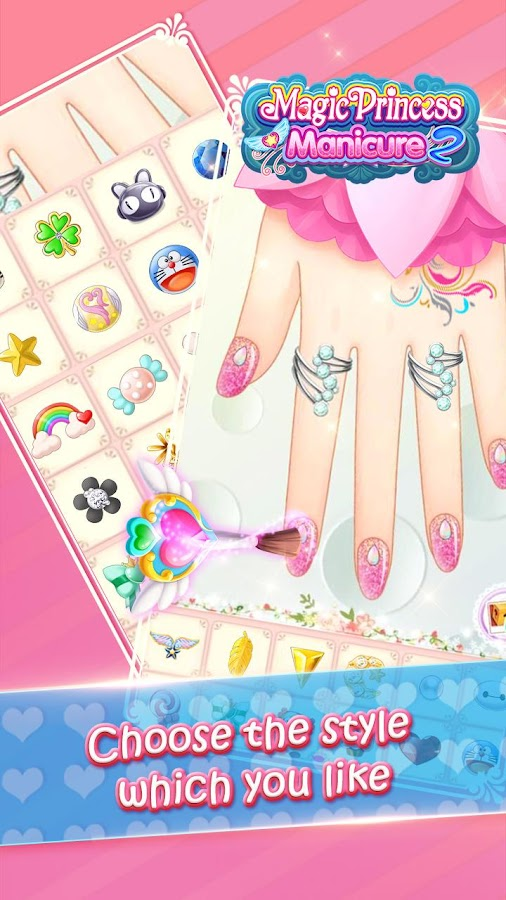 Magic Princess Manicure 2- screenshot