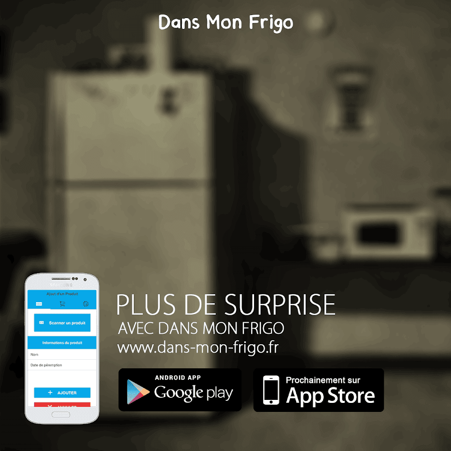 Dans mon frigo android apps on google play for 750g dans mon frigo