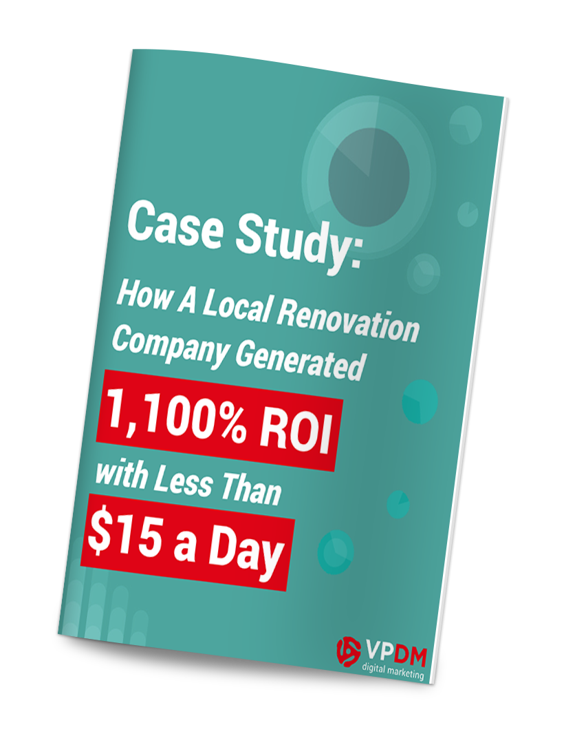 Facebook advertising case study! From VPDM Digital Marketing and SEO Company