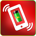 Battery charger shake prank icon