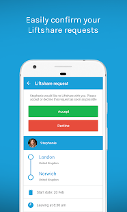 Liftshare- screenshot thumbnail