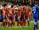 La Belgique 4ème du classement FIFA