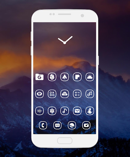 Whicons - White Icon Pack 20.6.9 screenshots 5
