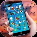 Bird Flying in Phone Prank icon