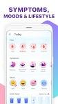 screenshot of Period Tracker, Ovulation Calendar & Fertility app