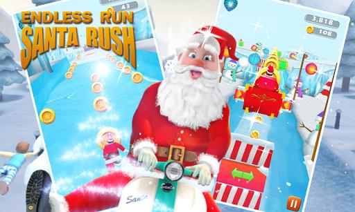 Endless Run Santa Rush
