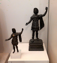 Photo: Copper alloy statues of Alexander the Great as Roman general from Alexandria