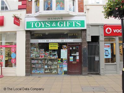Sulman's Toys & Gifts on Westborough - Toy Shops in Scarborough YO11