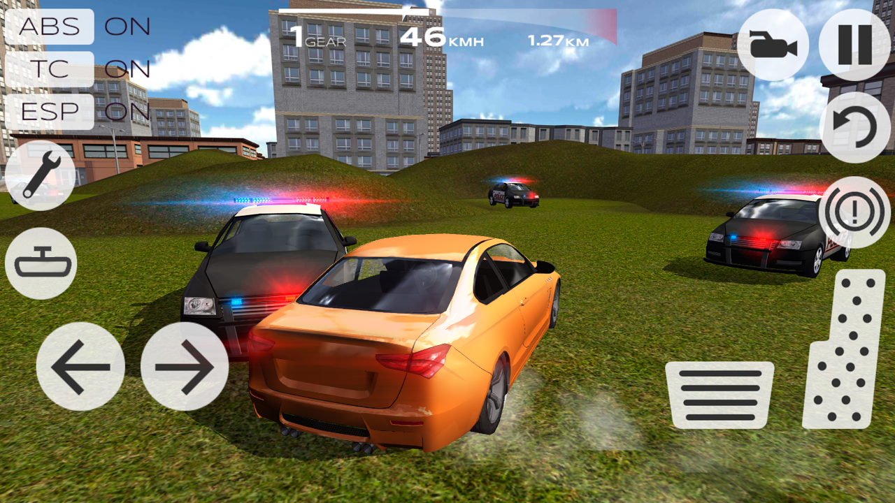 Super car city driving sim free games free online - Extreme Car Driving Racing 3d Screenshot